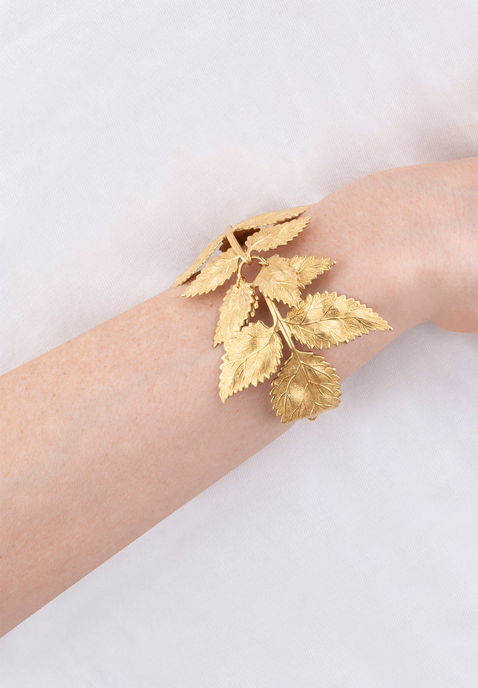 Pat's Leaves Bracelet