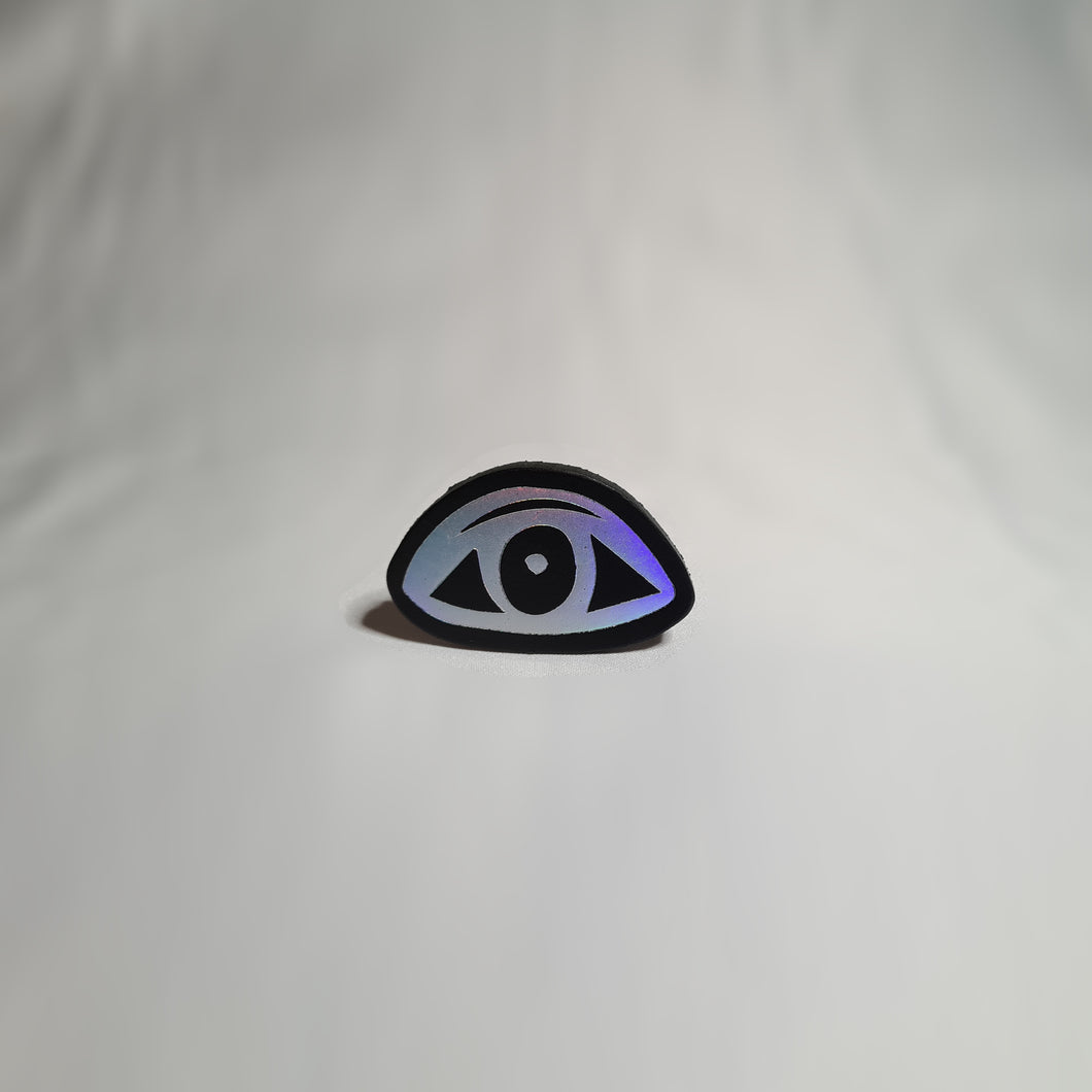 Original Jessica Akerman Eyes Open Open Eyes brooch