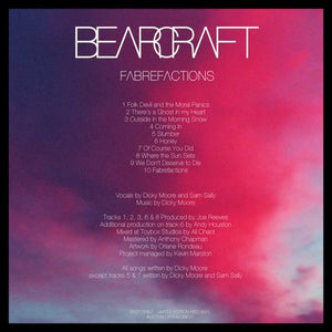 BEARCRAFT Fabrefactions numbered RED VINYL  LIMITED TO ONLY 100 COPIES