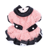 New Dog Cat Tutu Dress Double Pockets Design Princess Pet Puppy Skirt Clothes Apparel for Girl Dogs Cats Small Medium