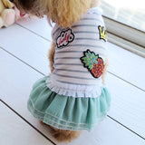 Cheap On Sale Pet Dress For Dog Little Small Pink Green Blue Puppies Animal Cat Tutu Wedding Party Skirt Clothes For Chihuahua