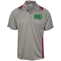 Heather Moisture Wicking Polo (7 colors)