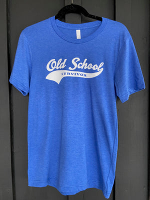 Old School Survivor  - Royal Blue