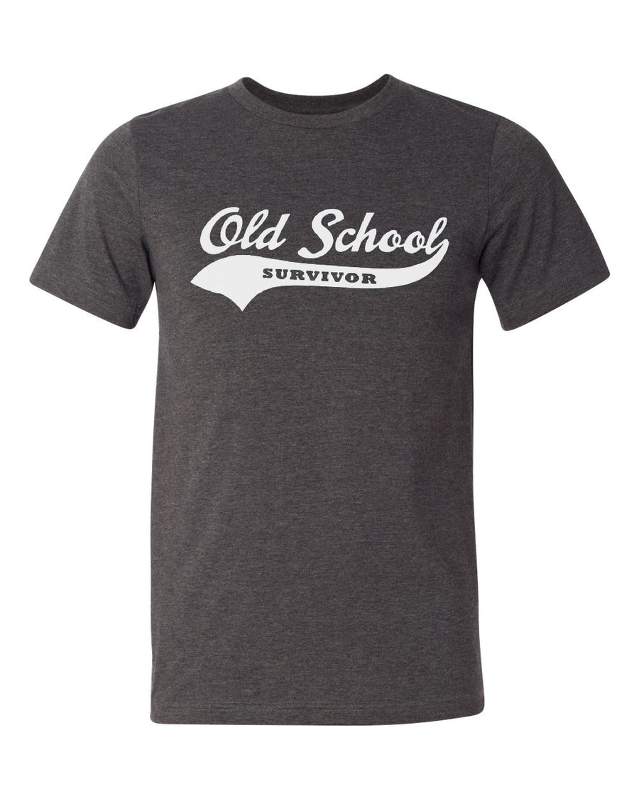 Old School Survivor - Original Dark Grey