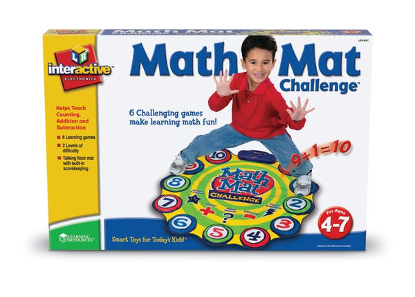 Math Mat Challenge - Addition & Subtraction Game