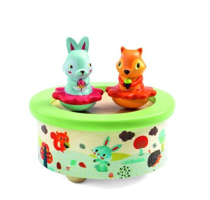 Djeco Magnetic Music Box- Friends Melody