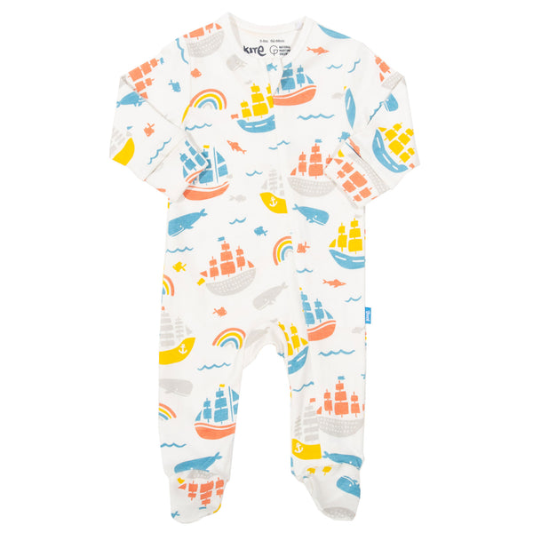 Kite Ship Ahoy Sleepsuit