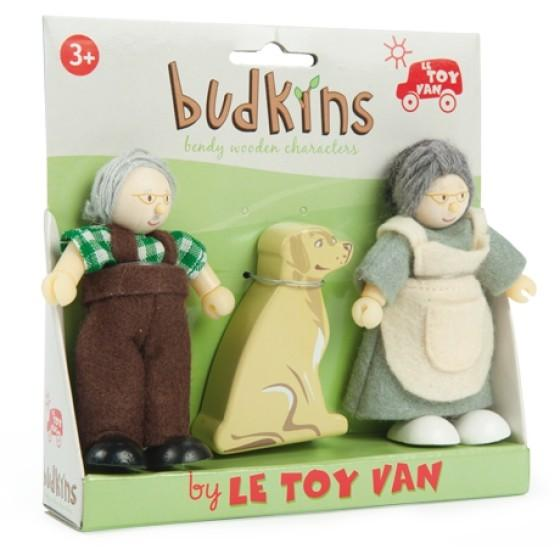 Le Toy Van Grandparents Set Budkins