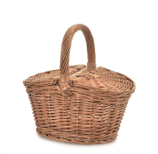 Egmont Wicker Small Picnic Basket