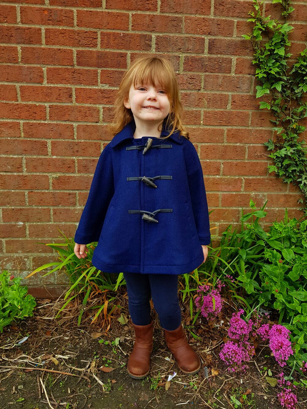 Handmade Children'S Cape - Navy Blue