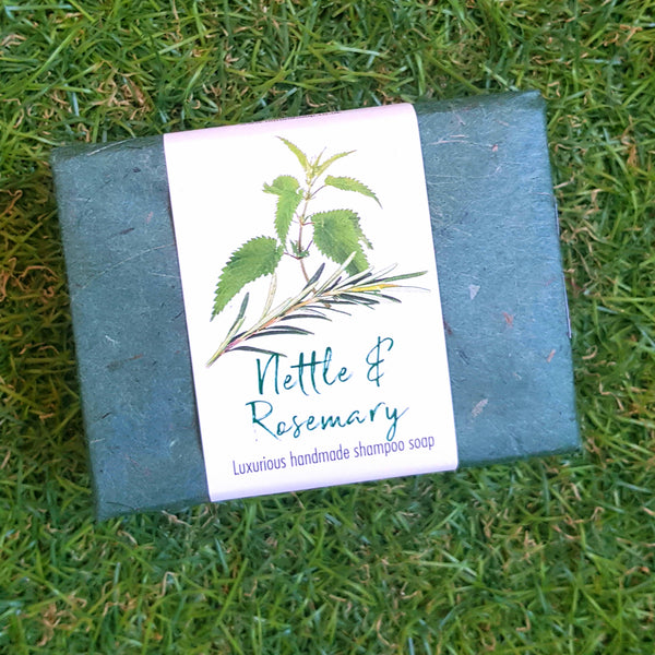 Nettle & Rosemary Shampoo Soap