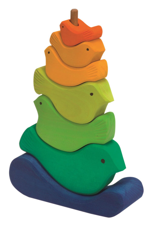 Gluckskafer Bird Stacking Tower