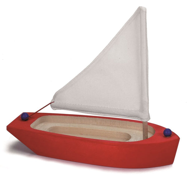 Gluckskafer Red Sailing Boat