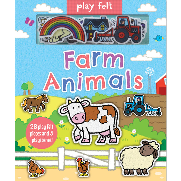 Play Felt Farm Animals