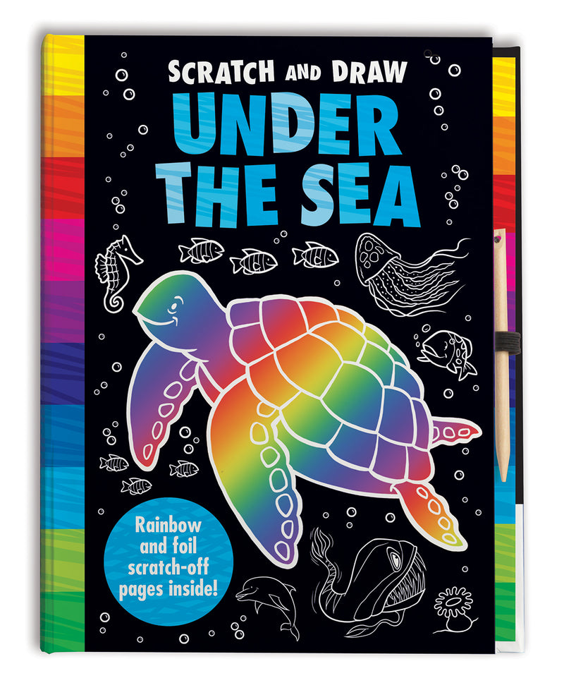Under Sea Scratch & Draw Book