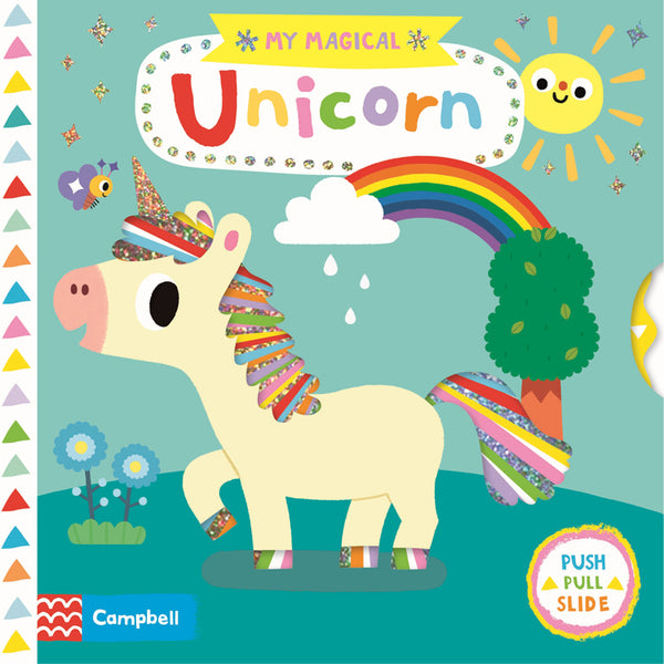 My Magical Unicorn Busy Board Book