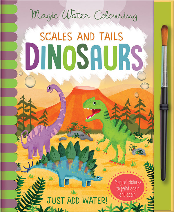 Dinosaurs Magic Water Colouring Book