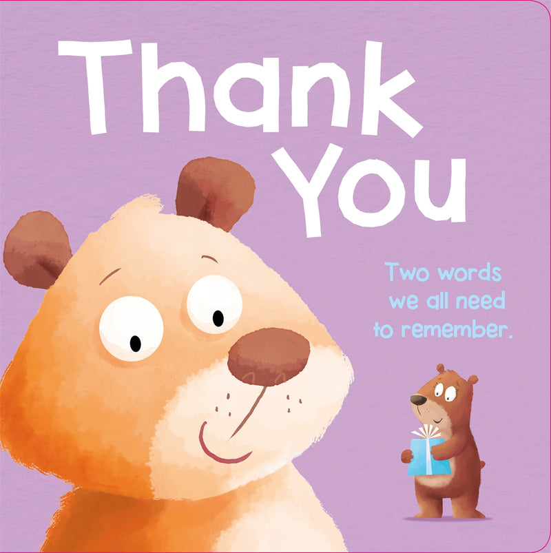 Thank You - Large Board Book