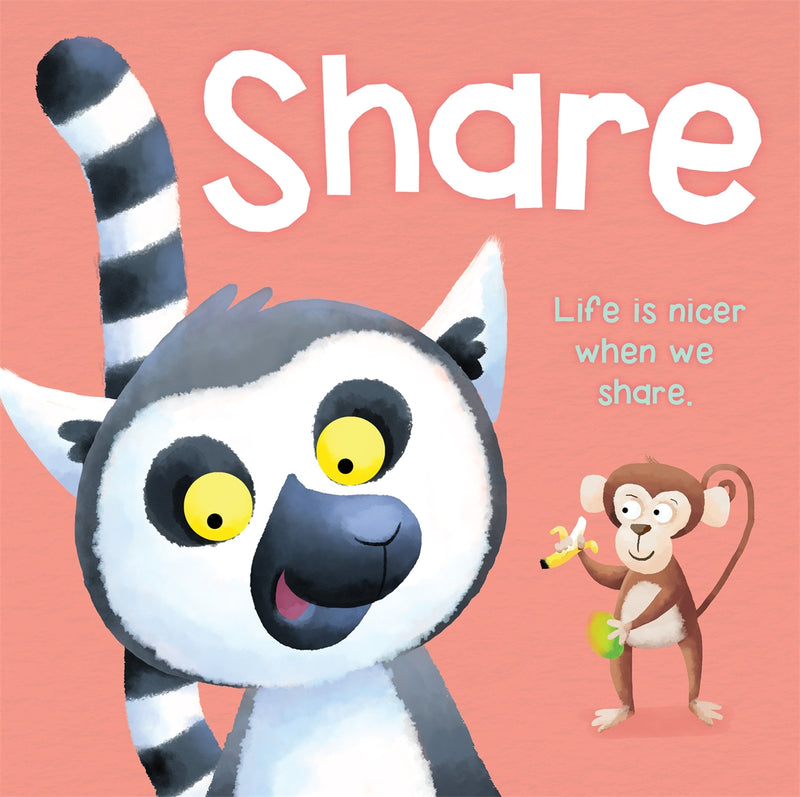 Share - Large Board Book