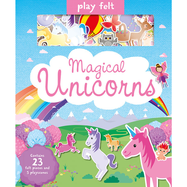 Play Felt Magical Unicorns Book