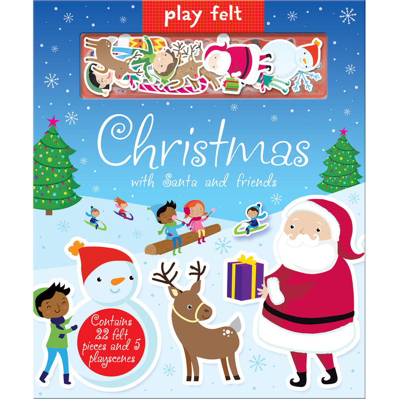 Play Felt Christmas Book
