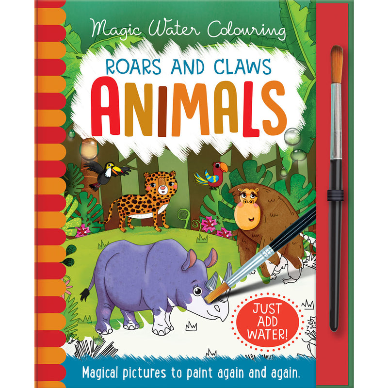 Animals Magic Water Colouring