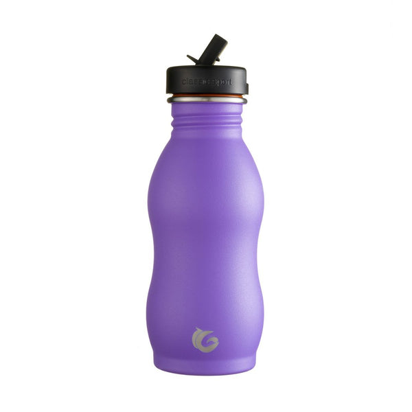 500ml One Green Bottle Stainless Steel Curvy Bottle - Unicorn Purple