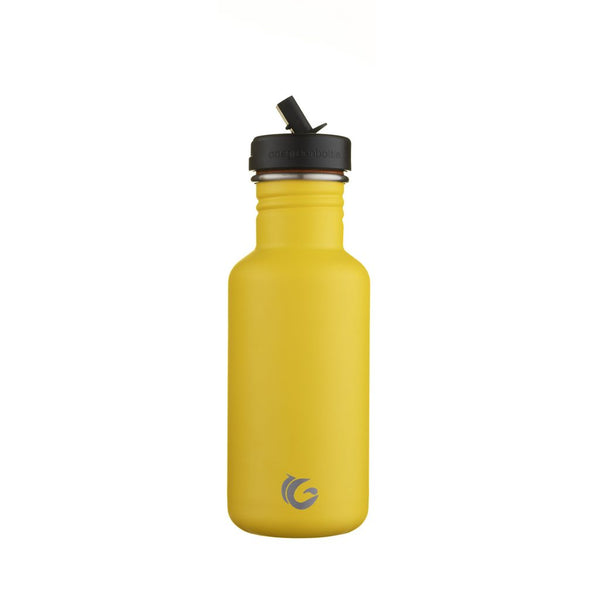 500ml One Green Bottle Tough Canteen - Bumble Yellow