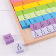 Bigjigs Rainbow Wooden Fractions Tray