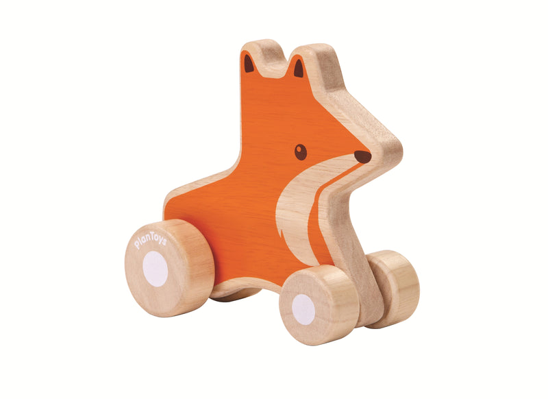 plan toys fox push along