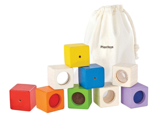 Plan Toys Activity Sensory Blocks
