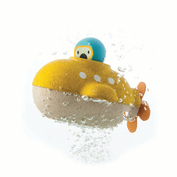 plan toys bath submarine toy