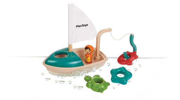 Plan Toys Bath Toy Activity Boat