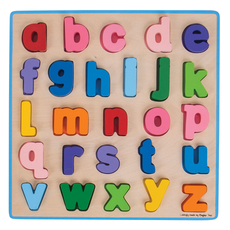 Bigjigs Chunky Alphabet Puzzle - Lower Case