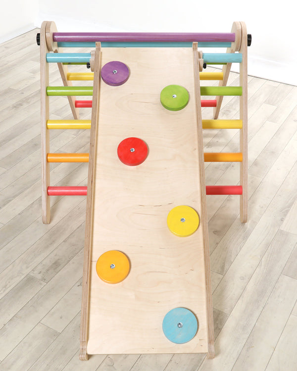 Sawdust & Rainbows Rainbow Climbing Disks Accessory