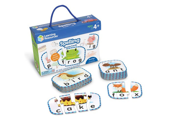Learning Resources Spelling Puzzle Cards