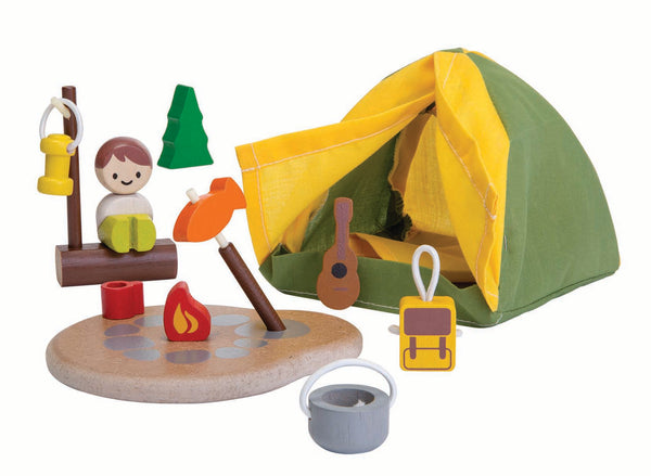 Plan Toys Camping Tent Play Set