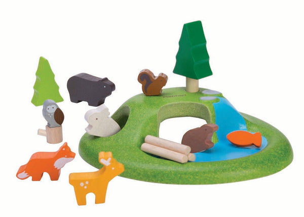 Plan Toys Animal Playset
