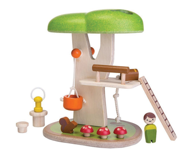 Plan Toys Tree House Playset
