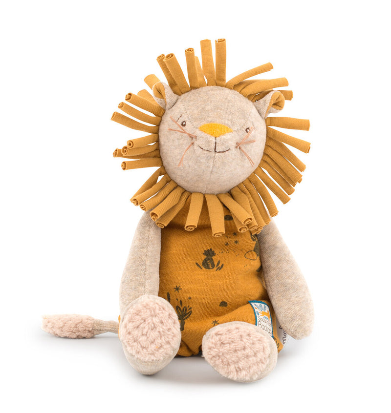 Moulin Roty Paprika The Lion Soft Toy In Box