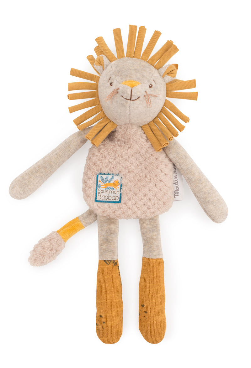 Moulin Roty Lion Rattle Comforter