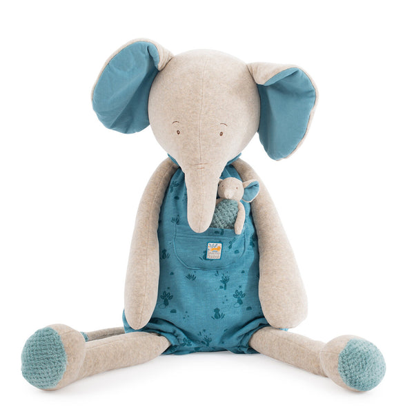 Moulin Roty Giant Elephant Soft Toy