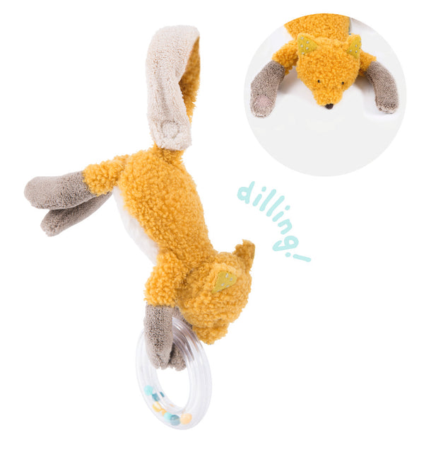Moulin Roty Chaussette The Fox Ring Rattle