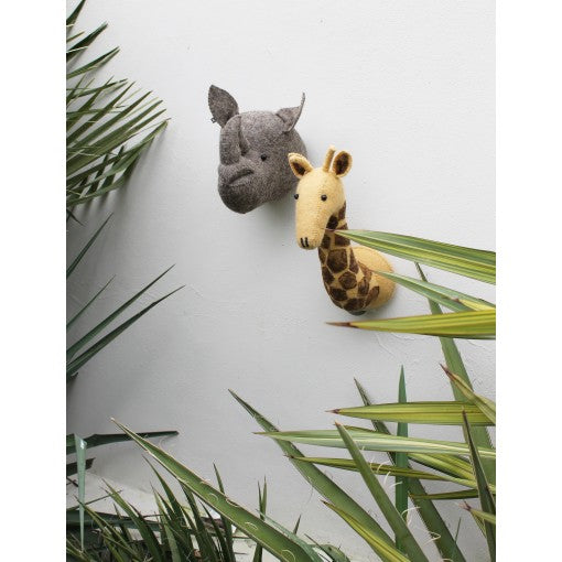 Fiona Walker Giraffe Head (Mini)