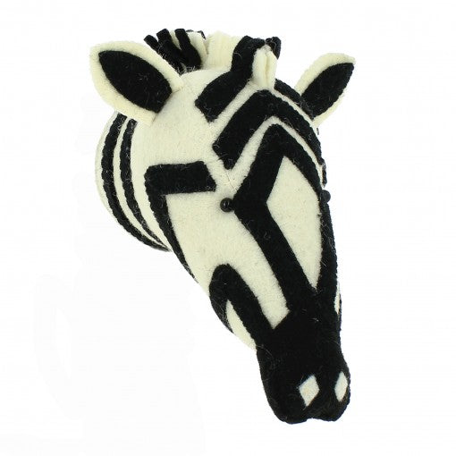 Fiona Walker Zebra Head (Mini)