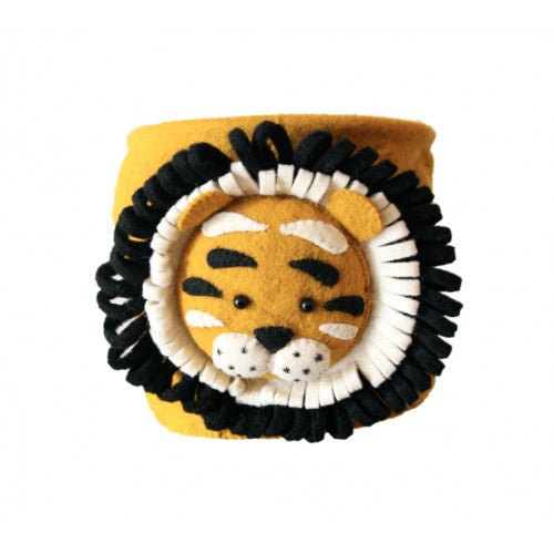 Fiona Walker Felt Storage Bag - Tiger