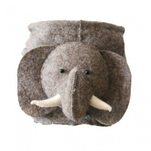 Fiona Walker Felt Storage Bag - Elephant