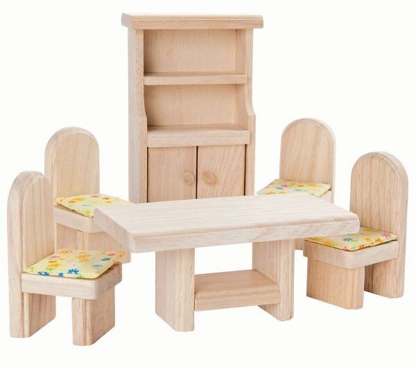 Plan Toys Dolls House Furniture - Dining Room