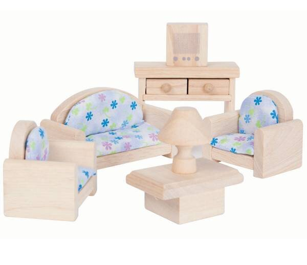 Plan Toys Dolls House Furniture - Living Room