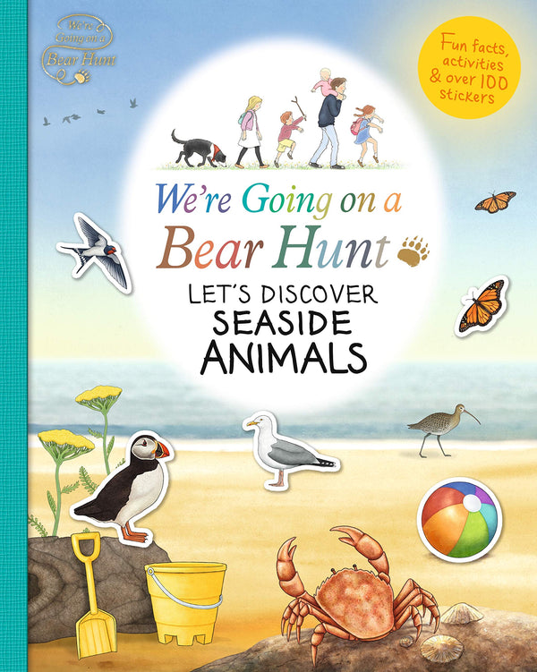 Were Going On A Bear Hunt: Seaside Animals Book